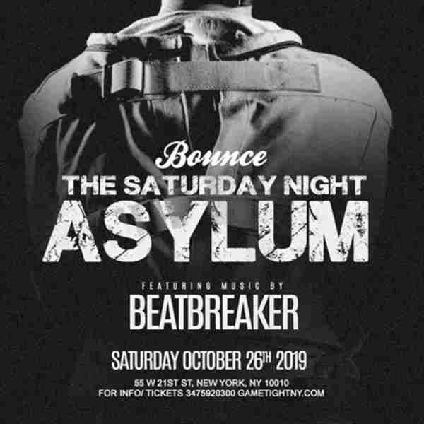 Bounce NYC Halloween Saturday Night 2019 in New York on 26 Oct