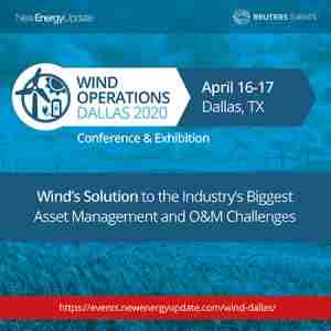 Wind Operations Dallas 2020 (April 16-17 TX) O&M, Asset Management, Storage in Dallas on 16 Apr
