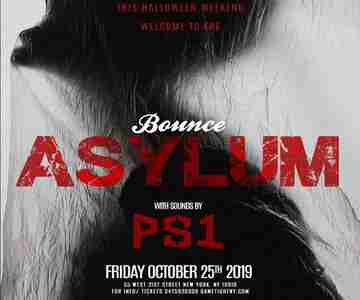 Bounce NYC Halloween PS1 Friday Asylum Party 2019 in New York on 25 Oct