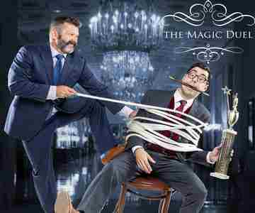 The Magic Duel Comedy Show at the Mayflower in Washington on Saturday, October 12, 2019