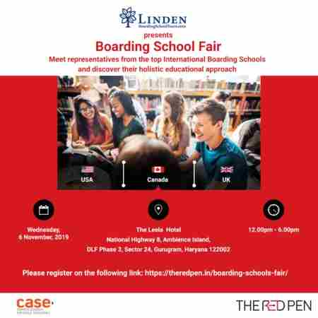 Boarding School Fair in Haryana - November 2019 in Gurugram on 6 Nov