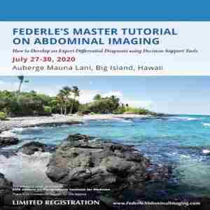 Federle's Master Tutorial on Abdominal Imaging in Waimea on 27 Jul
