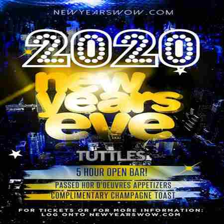 Tuttles Bar and Grill New York City New Year's Eve 2020 Celebration in New York on 31 Dec