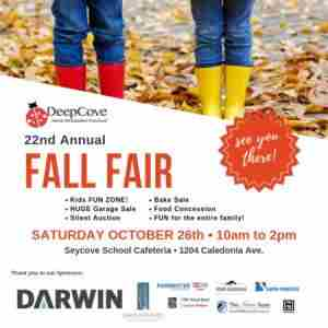 Deep Cove Fall Fair in North Vancouver on 26 Oct