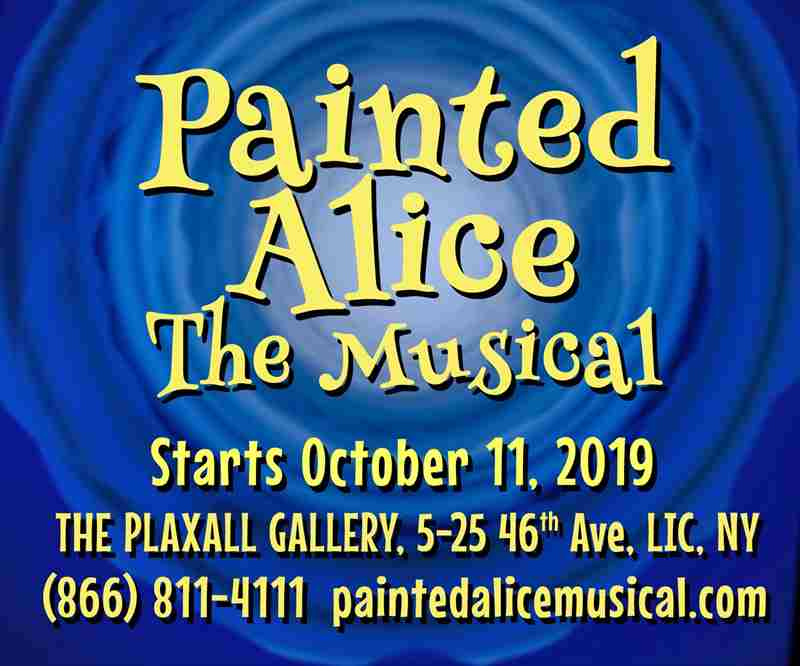 Painted Alice The Musical in Long Island City on 10 Nov