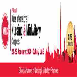 The Dubai International Nursing & Midwifery Congress in Dubai on 24 Jan