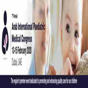 The 7th Annual Arab International Paediatric Medical Congress in Dubai on 13 Feb