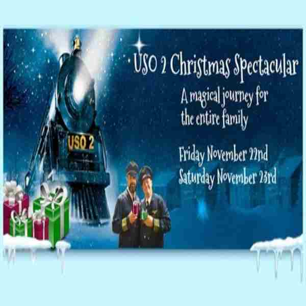 All Aboard the USO 2,Christmas Spectacular in Jacksonville on 22 Nov