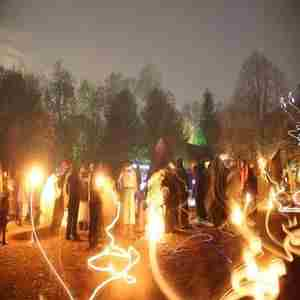 Samhuinn (Celtic New Year's Eve) Celebration of Light in Bangor on 2 Nov
