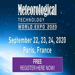 Meteorological Technology World Expo 2020 - September 22-24 - Paris, France in Paris on 22 Sep