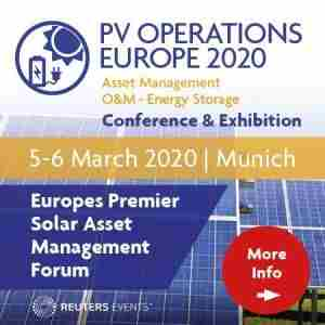 PV Operations Europe 2020 in München on 5 Mar