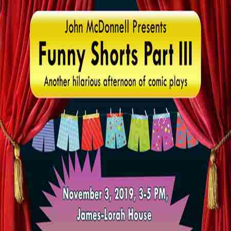 Funny Shorts Part III in Doylestown on 3 Nov