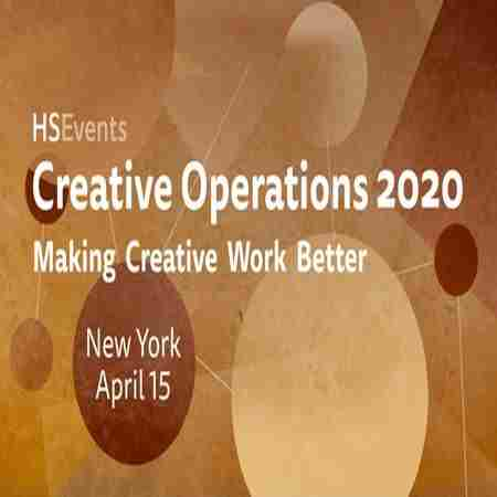 Creative Operations New York 2020 in New York on 15 Apr