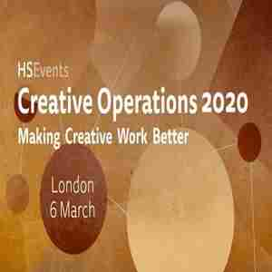 Creative Operations London 2020 in London on 6 Mar