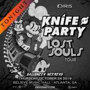 Knife Party | The Lost Souls Tour - IRIS Halloween in Atlanta on 25 Oct