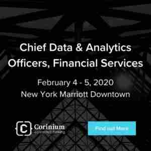 Chief Data And Analytics Officers, Financial Services in New York on 4 Feb