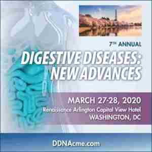7th Annual Digestive Diseases: New Advances in Arlington on 27 Mar