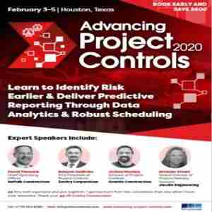 Advancing Project Controls 2020 in Houston on 3 Feb