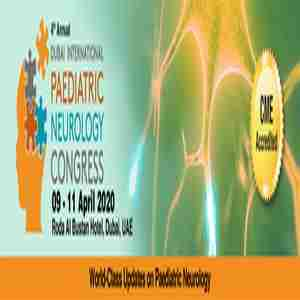 The 4th Annual Dubai International Paediatric Neurology Congress in UAE on 9 Apr
