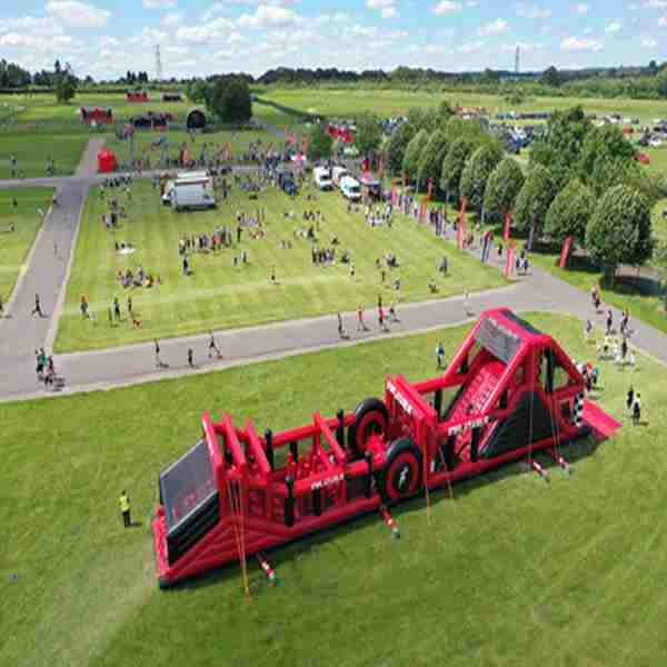 Inflatable 5k Obstacle Course Run - Bournemouth in Hampshire on 17 Apr