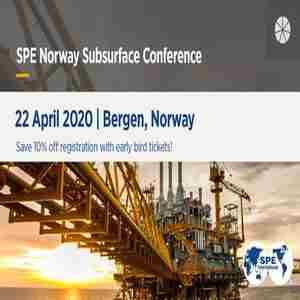 SPE Norway Subsurface Conference 2020 in Bergen on 22 Apr