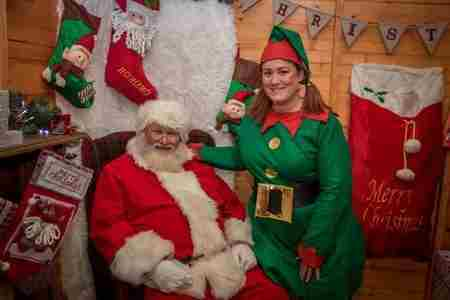 Visit Father Christmas at St Tydfil Shopping Centre in Merthyr Tydfil County Borough on 29 Nov