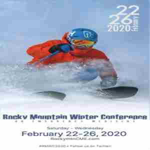 Rocky Mountain Winter Conference on Emergency Medicine 2020 in Breckenridge on Saturday, February 22, 2020