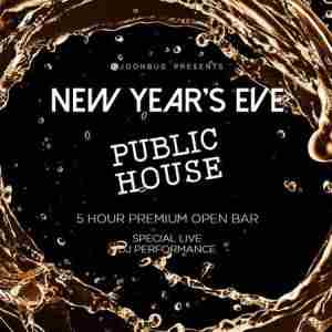 Public House New Years Eve 2020 Party in New York on 31 Dec