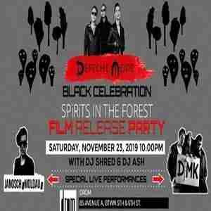 "Depeche Mode - ""SPiRiTS in the FOREST"" Film Release Party in New York on 23 Nov"