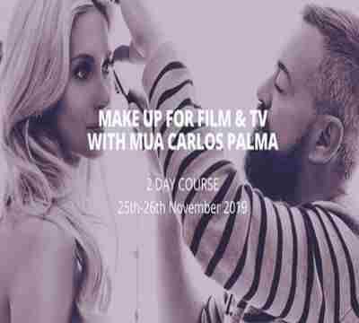 MAKE UP FOR FILM and TV WITH MUA CARLOS PALMA in Northampton on 25 Nov