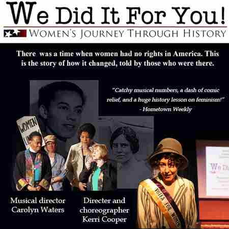 We Did it For You - Women's Journey Through History in Foxborough on 16 Nov