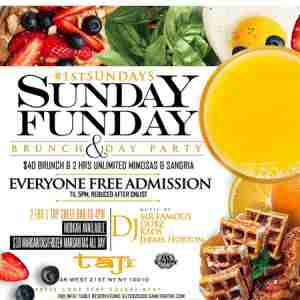 Taj Lounge NYC Hip Hop vs. Reggae™ Sunday Funday Brunch Party in New York on 1 Dec