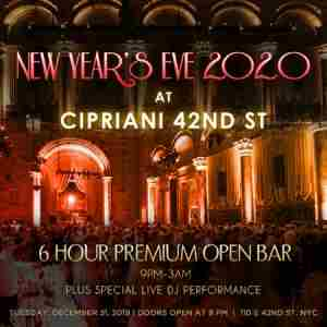 Cipriani 42nd St New Years Eve Party in New York on 31 Dec