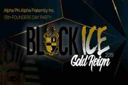 Black Ice - Gold Reign 2019 hosted by The DC Alphas in Washington on Friday, December 6, 2019