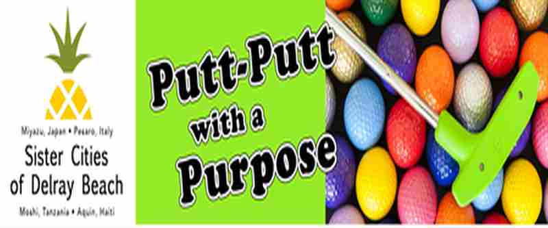 Putt-Putt With A Purpose in Delray Beach on 19 Jan