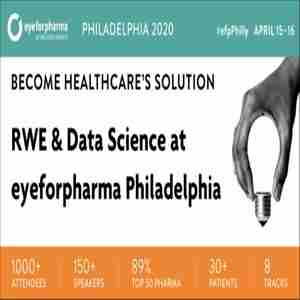 RWE & Data Science USA at eyeforpharma Philadelphia in Philadelphia on 15 Apr