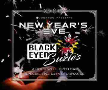 Lindypromo.com Presents Black Eyed Suzie's New Years Eve Party 2020 in Bel Air on 31 Dec