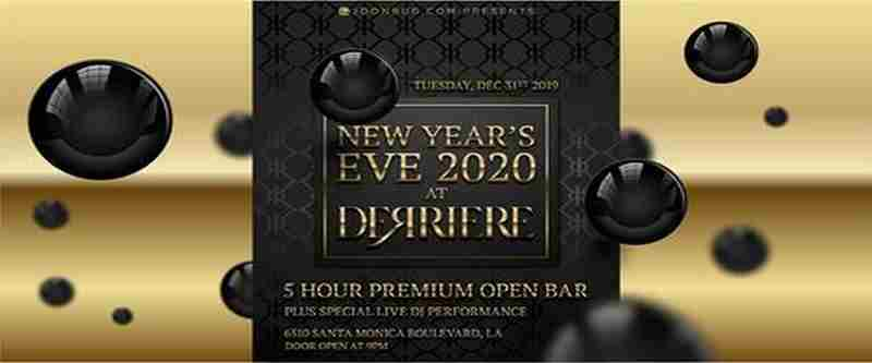 Joonbug.com Presents The Derriere New Years Eve Party 2020 in Los Angeles on 31 Dec