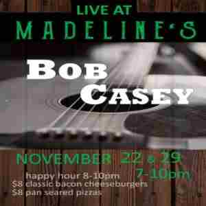 Bob Casey (Casey and Casey) Live with Tom Beam - Madeline's Dining and Events in Cranesville on 22 Nov