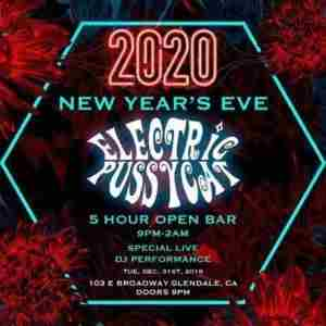 Electric Pussycat New Years Eve 2020 Party in Glendale on 31 Dec