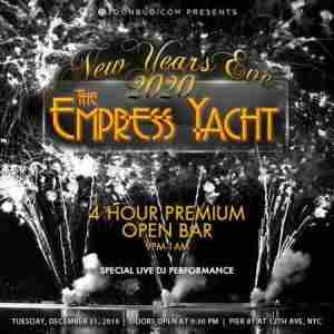 The Nautical Empress Yacht New Years Eve 2020 Party in New York on 31 Dec