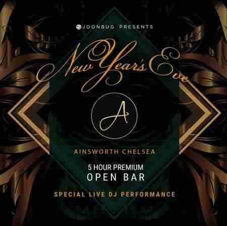 Ainsworth Chelsea New Years Eve Party in New York on 31 Dec