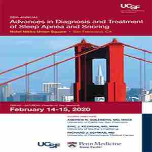 26th Annual Advances in Diagnosis and Treatment of Sleep Apnea and Snoring in San Francisco on 14 Feb