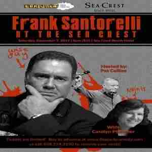 Frank Santorelli at the Sea Crest in Falmouth on 7 Dec