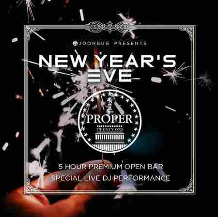 Lindypromo.com Presents Proper 21 New Years Eve Party 2020 in Washington on 31 Dec