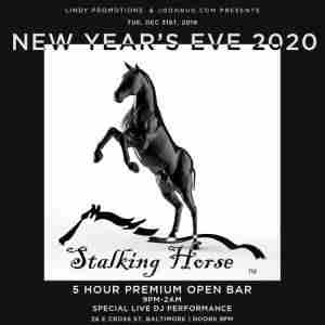 Lindypromo.com Presents Baltimore's Stalking Horse New Years Eve Party 2020 in Baltimore on 31 Dec