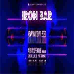 Iron Bar New Years Eve 2020 Party in New York on 31 Dec