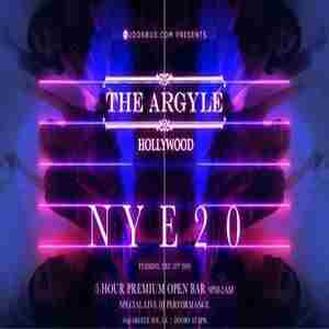 The Argyle New Years Eve 2020 Party in Los Angeles on 31 Dec