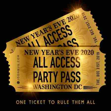 lindypromo.com Presents the DC All Access NYE Party Pass 2020 in Washington on 31 Dec