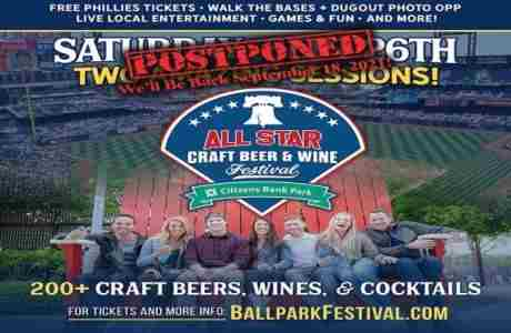 The Philadelphia All-Star Craft Beer, Wine, and Cocktail Festival in Philadelphia on 26 Sep